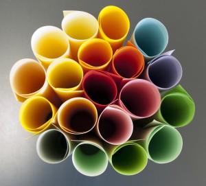 color paper rolls